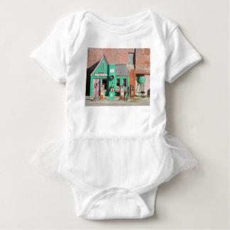 Body Para Bebé Vieja estación de Conoco de la ruta 66