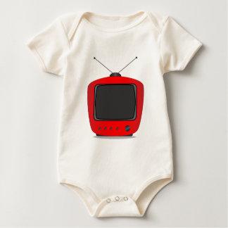 Body Para Bebé Vieja televisión