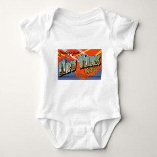 Body Para Bebé Vintage New York City