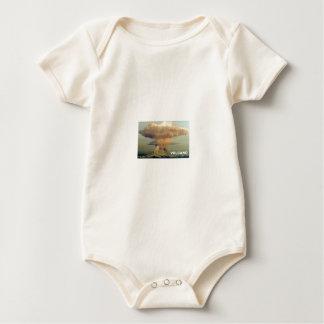 Body Para Bebé Volcán distante