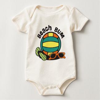 Body Para Bebé Voleibol del vago de la playa