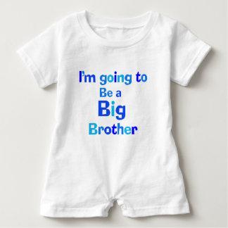 Body Para Bebé Voy a ser un hermano mayor