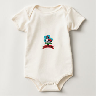 Body Para Bebé vuelva a casa a la iglesia