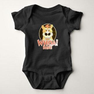 Body Para Bebé Whoa caballo del bebé