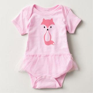 Body Para Bebé Zorro rosado