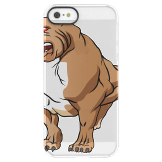 bodybuilder. fuerte del pitbull funda permafrost® para iPhone SE/5/5s