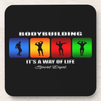 Bodybuilding fresco es una manera de vida apoyavasos