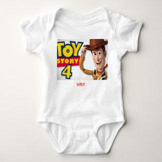 bodysuite del jersey del bebé con el dibujo