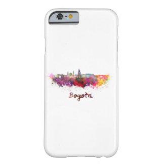Bogota v2 skyline in watercolor funda barely there iPhone 6