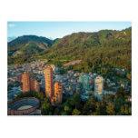 Bogotá y las montañas de los Andes Postal