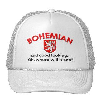 Bohemio apuesto gorra