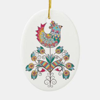 Boho-moda, polluelo étnico, popular en la flor ornamentos para reyes magos