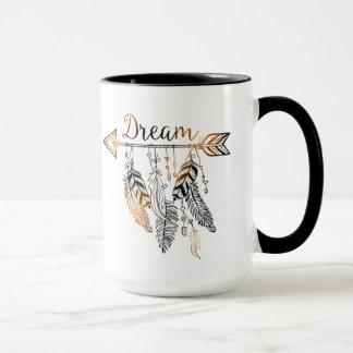 Boho que soña la taza del | Coffe