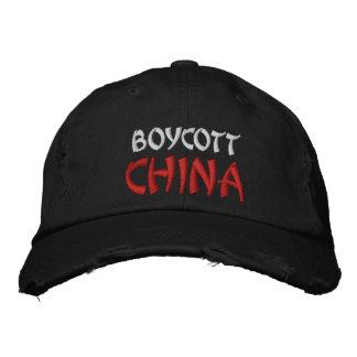 boicoteo China Gorra De Beisbol