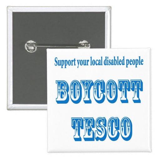 boicoteo Tesco Pin