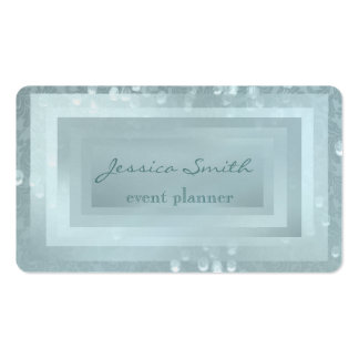 Bokeh elegante profesional del damasco tarjetas de visita