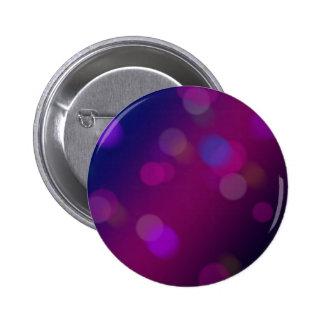 Bokeh violeta chapa redonda de 5 cm