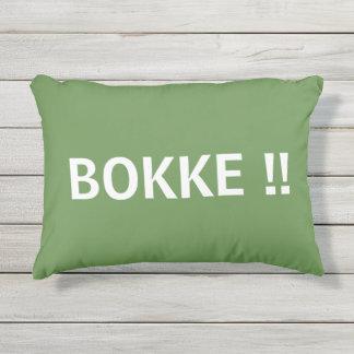 """¡""""BOKKE!! """" COJÍN DE EXTERIOR"""
