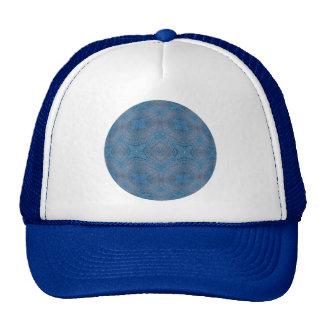 Bola azul Crocheted Gorros