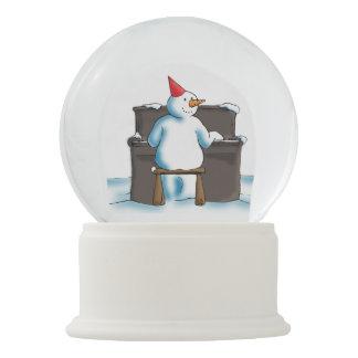 Bola De Cristal Con Nieve El pianista