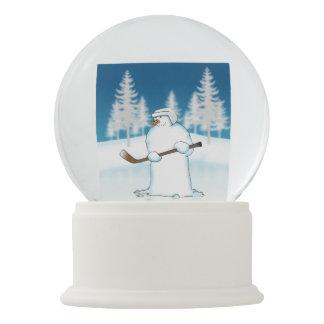 Bola De Cristal Con Nieve Haga frente apagado