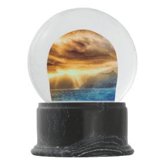 Bola De Cristal Con Nieve Isla de Bora Bora