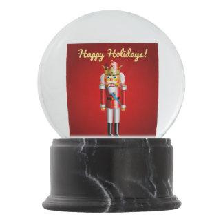 Bola De Cristal Con Nieve Juguetes lindos del cascanueces del navidad