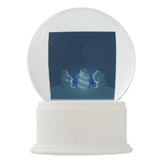 Bola De Cristal Con Nieve Luces de navidad