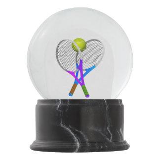 Bola De Cristal Con Nieve Pelota de tenis y estafas