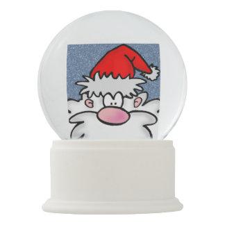 Bola De Cristal Con Nieve Santa