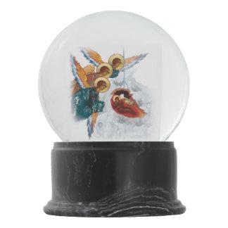 Bola De Cristal Con Nieve Snowglobe de encargo con el icono del navidad de