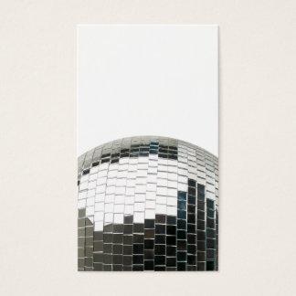 Bola de discoteca de Mirrorball Tarjeta De Visita