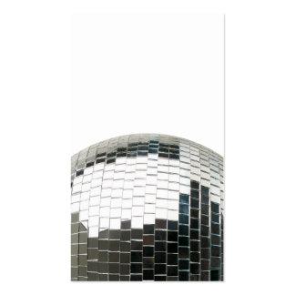 Bola de discoteca de Mirrorball Tarjetas De Visita