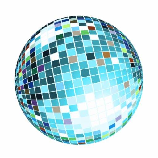 Bola discoteca dibujo imagui - Bola de discoteca de colores ...