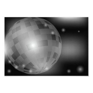 Bola de discoteca comunicados personalizados