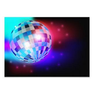 Bola de discoteca anuncio personalizado
