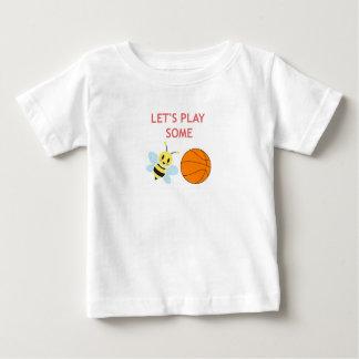 Bola de la abeja camiseta de bebé