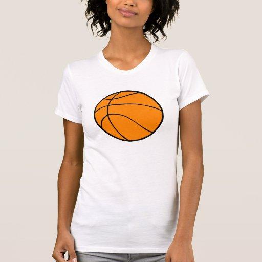 Bola de la cesta camisetas