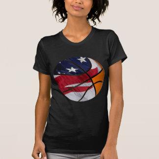 Bola de la cesta de los E.E.U.U. Camisetas
