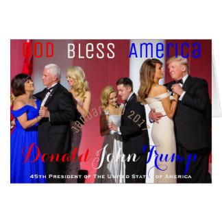 Bola de la libertad de la danza de la familia de tarjeta de felicitación