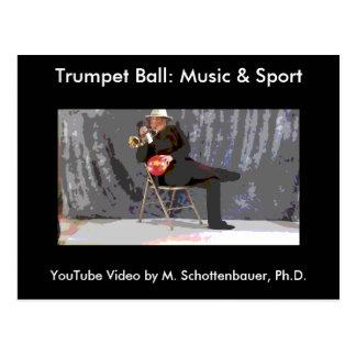 Bola de la trompeta: Postal 11 de la música y del