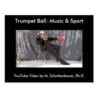 Bola de la trompeta: Postal 7 de la música y del