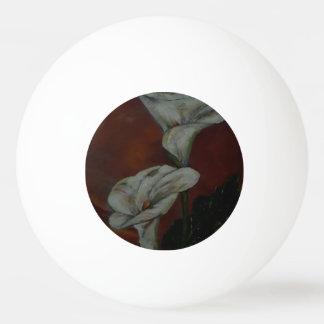 Bola de los tenis de mesa de los lirios de Arum 2