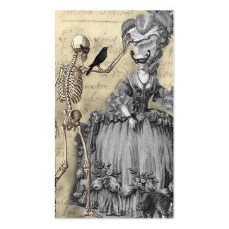 Bola de mascarada de Halloween Tarjetas De Visita