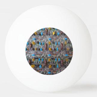 Bola de ping-pong de la estrella Circuit1 tres