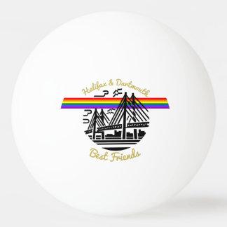 Bola de ping-pong de los mejores amigos de Halifax