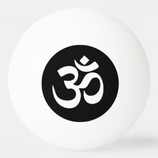 Bola de ping-pong del círculo del símbolo de OM
