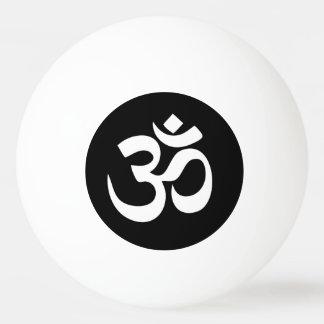 Bola de ping-pong del círculo del símbolo de OM Pelota De Ping Pong