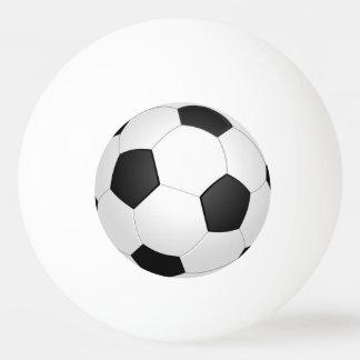 Bola de ping-pong del ejemplo del fútbol del balón