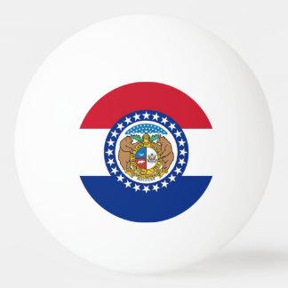 Bola de ping-pong especial con la bandera de